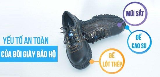 giày bảo hộ lao động ở bình dương